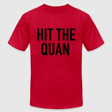 Hit the Quan Long Sleeve Shirts - Men's T-Shirt by American Apparel