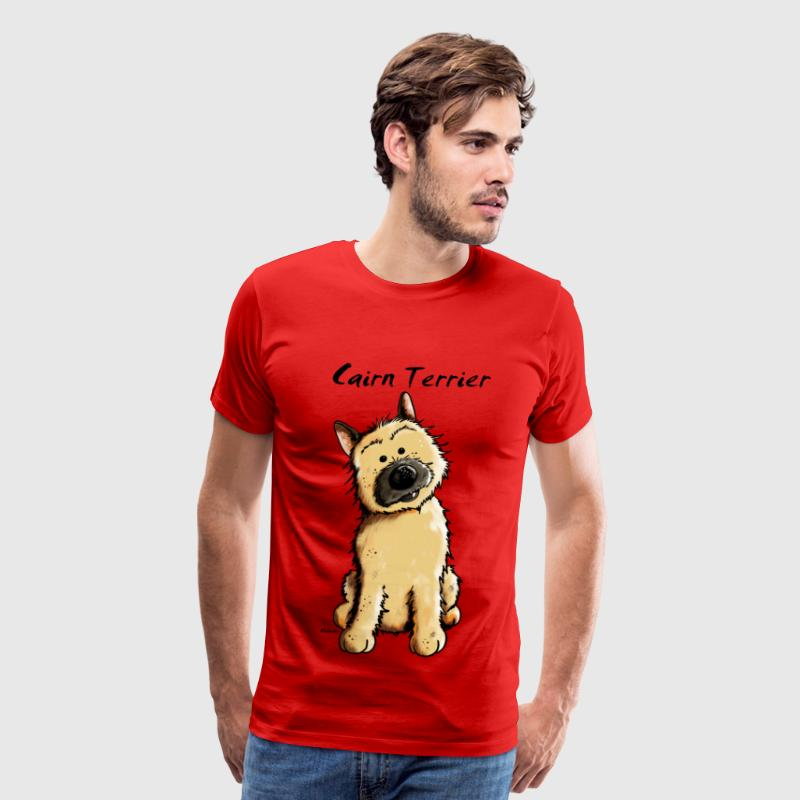 Cute Cairn Terrier T-Shirts - Men's Premium T-Shirt