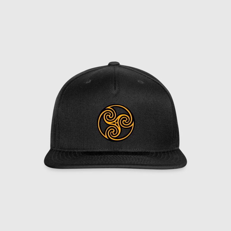 Spiral Celtic Viking Rune Caps - Snap-back Baseball Cap