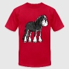 Happy Shire Horse T-Shirts - Men's Fine Jersey T-Shirt