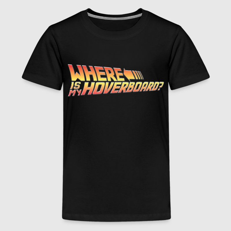 Where's My Hoverboard? Kids' Shirts - Kids' Premium T-Shirt