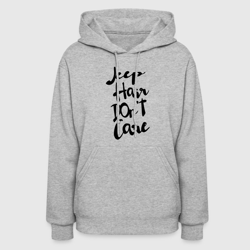 JEEP HAIR DON'T CARE Hoodies - Women's Hoodie