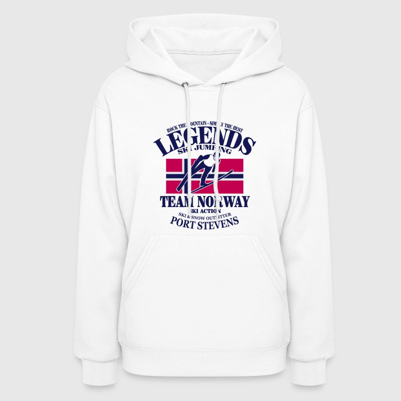 Norway Ski Jumping Hoodies - Women's Hoodie