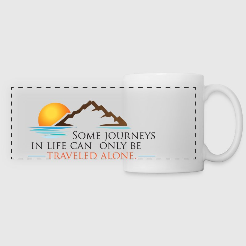 Viral Life Quote: Quotes Ken Poirot Panoramic Desi - Panoramic Mug