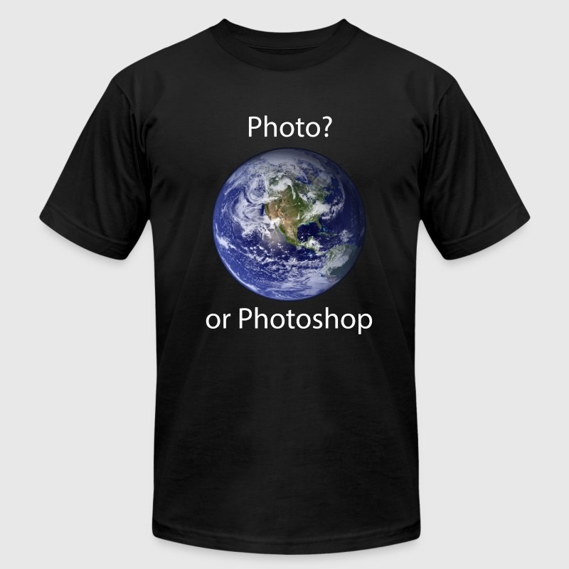 Photo? or Photoshop T-Shirts - Men's T-Shirt by American Apparel
