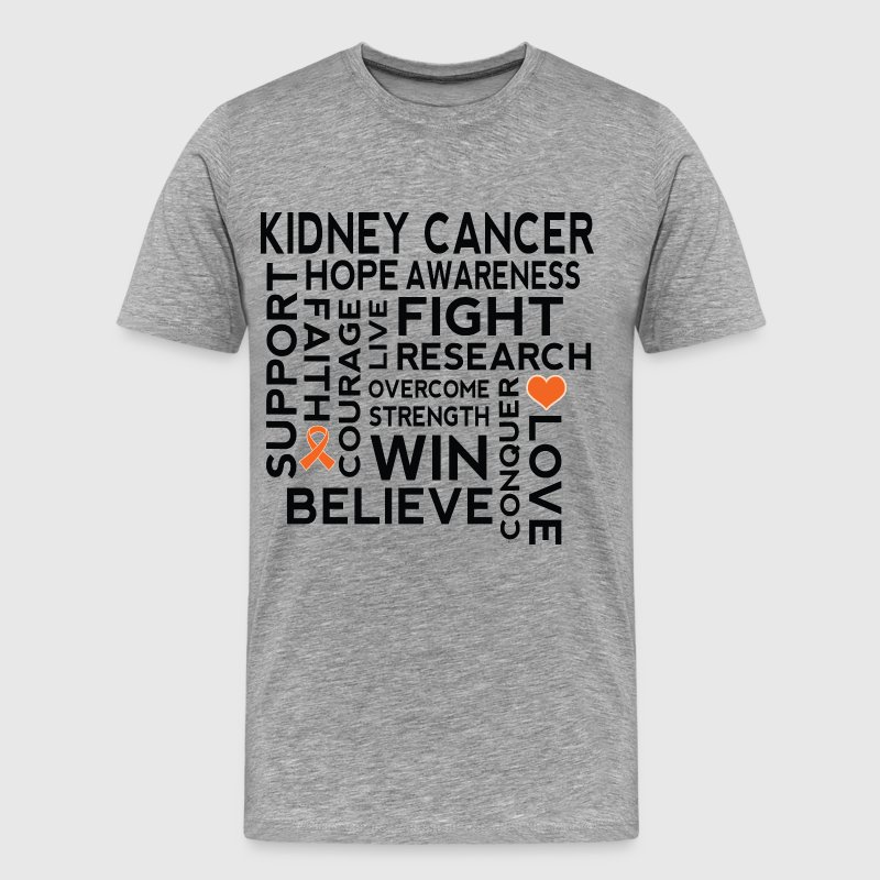 Kidney Cancer Awareness Walk T-Shirts - Men's Premium T-Shirt