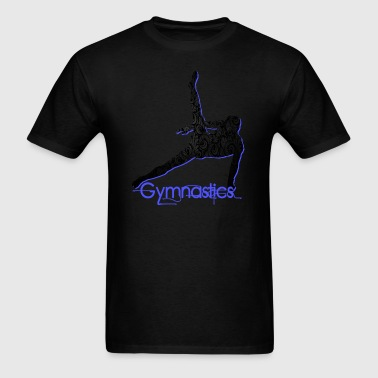 Gymnast's Silhouette Tank Tops - Men's T-Shirt
