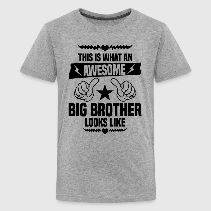 Awesome Big Brother Looks Like Kids' Shirts - Kids' Premium T-Shirt