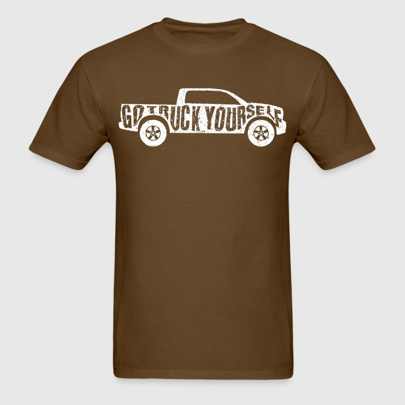 Go Truck Yourself T-Shirts - Men's T-Shirt