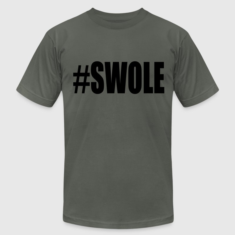 Swole Weight Lifting T-Shirts - Men's Fine Jersey T-Shirt