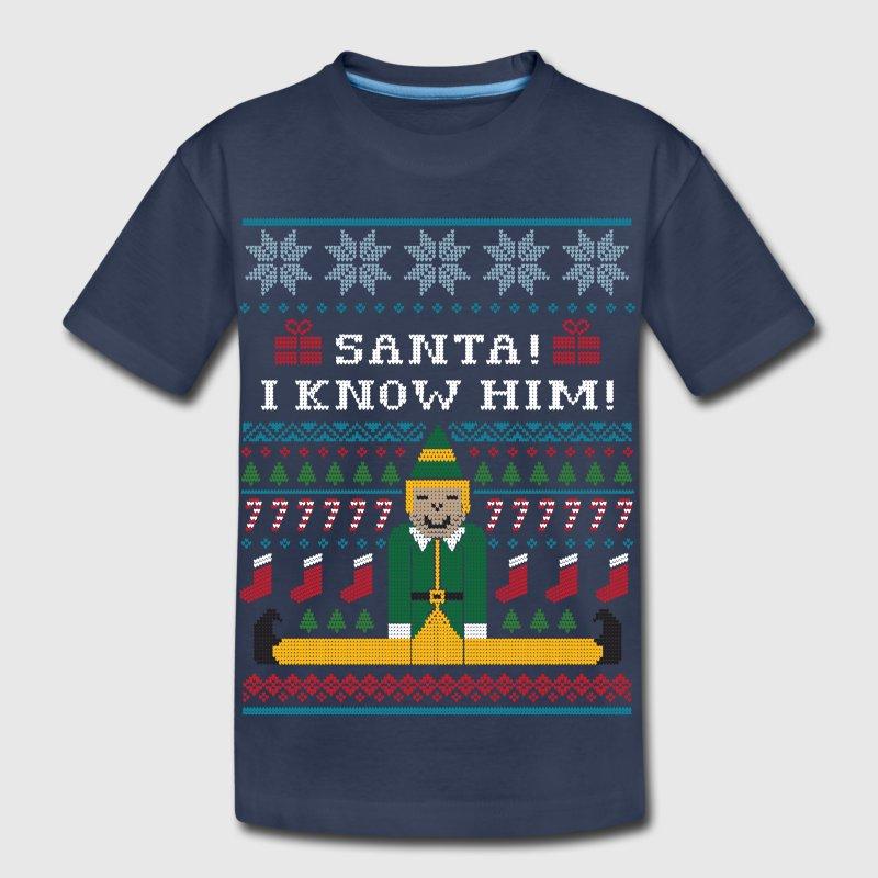 Elf Christmas Sweater T-Shirt | Spreadshirt