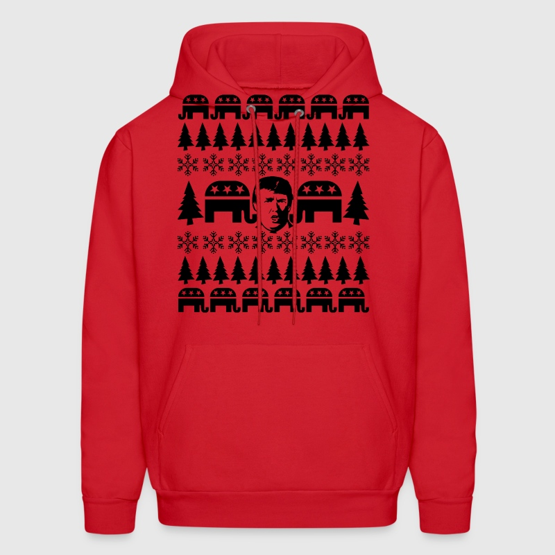 GOP Donald Christmas Sweater Hoodie | Spreadshirt