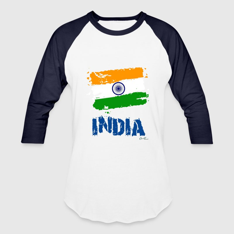 India Flag T-Shirts - Baseball T-Shirt