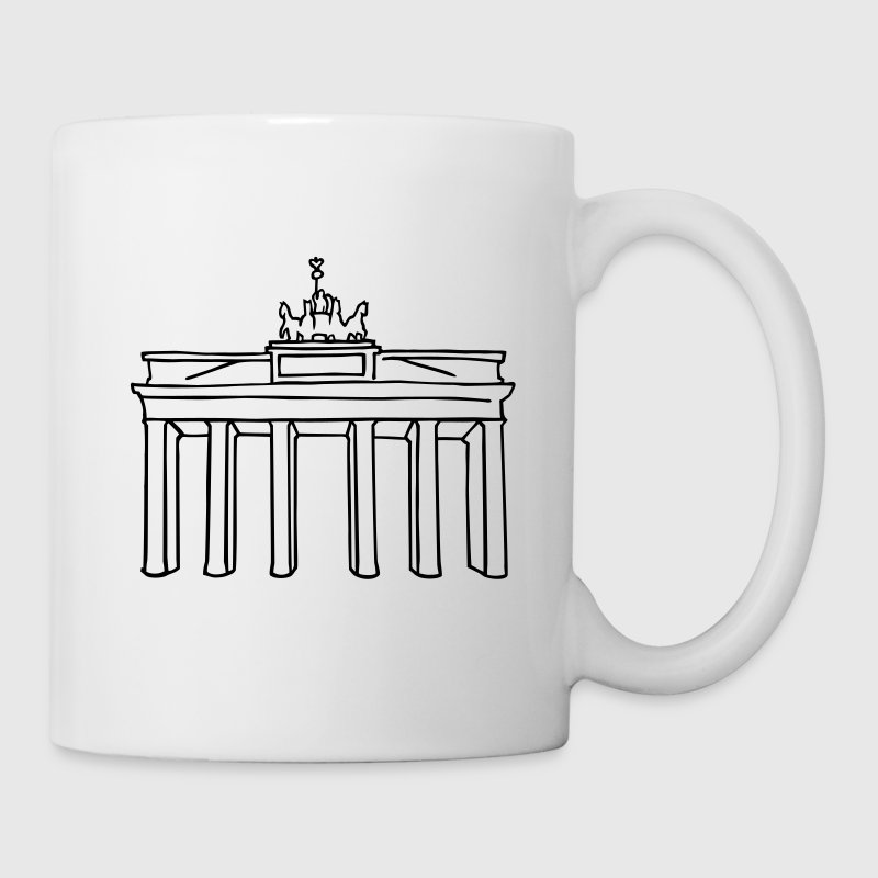 Brandenburg Gate Berlin Mugs & Drinkware - Coffee/Tea Mug