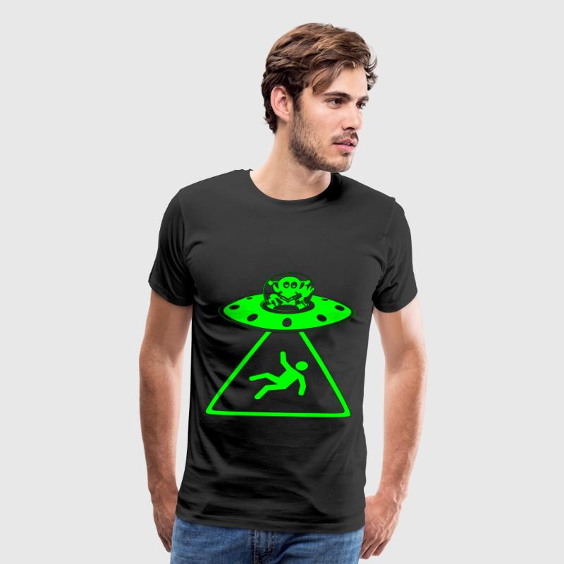 Alien Abduction  - Men's Premium T-Shirt