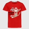 Diabetes Awareness Month Sock Monkey Kids' Shirts - Kids' Premium T-Shirt