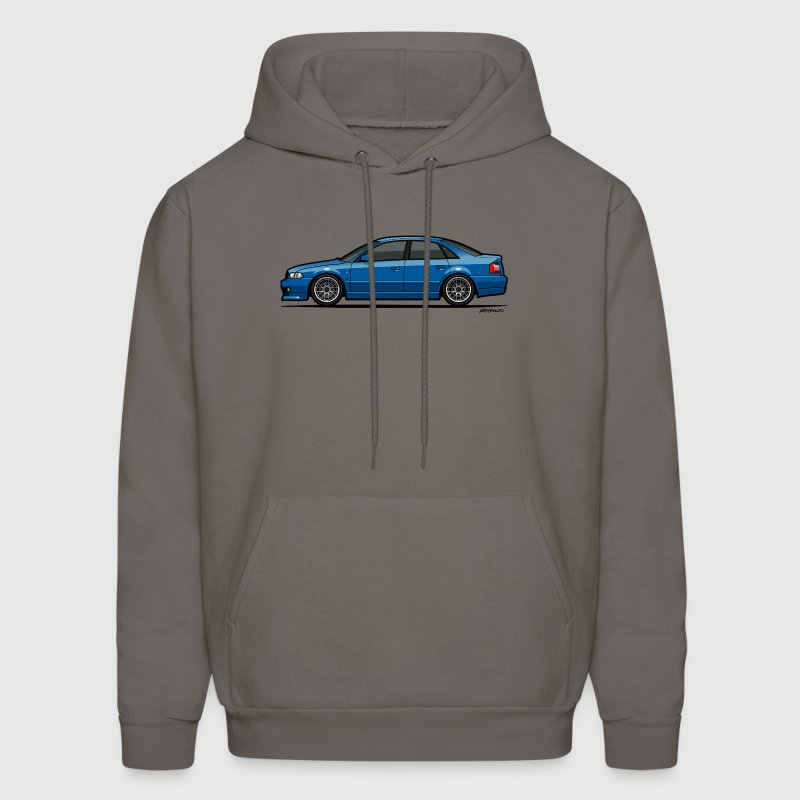 Audi A4 Quattro B5 Sedan (Nogaro Blue) Hoodies - Men's Hoodie