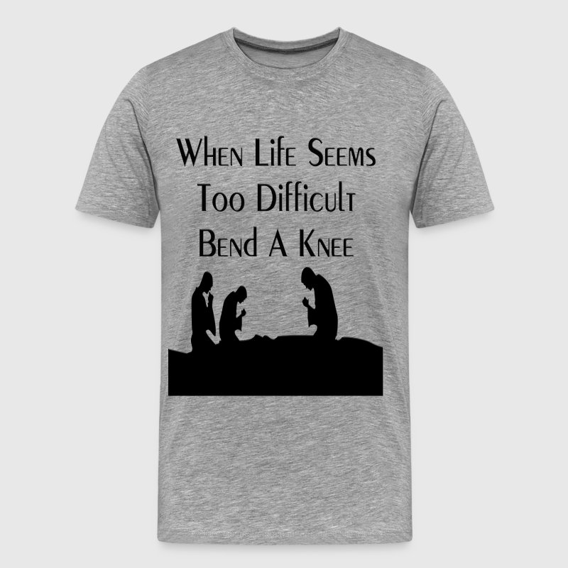 Bend A Knee T-Shirts - Men's Premium T-Shirt