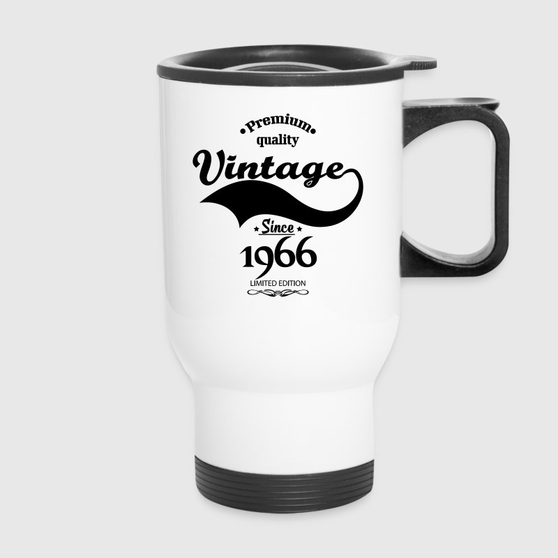 Premium Quality Vintage Since 1966 Limited Edition Mugs & Drinkware - Travel Mug