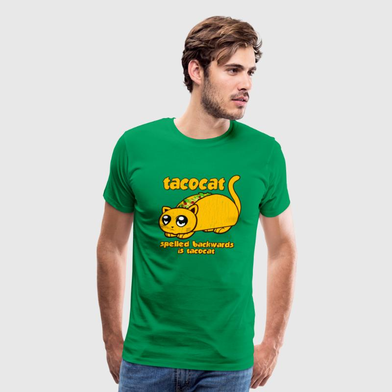 Funny Taco Cat Spelled Backwards is Taco Cat - Men's Premium T-Shirt