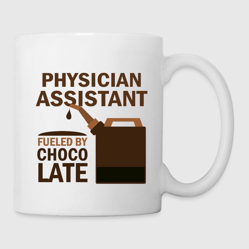 Physician Assistant Fueled By Chocolate Mugs & Drinkware - Coffee/Tea Mug