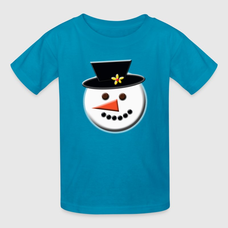 Snowman Head - Kids' T-Shirt