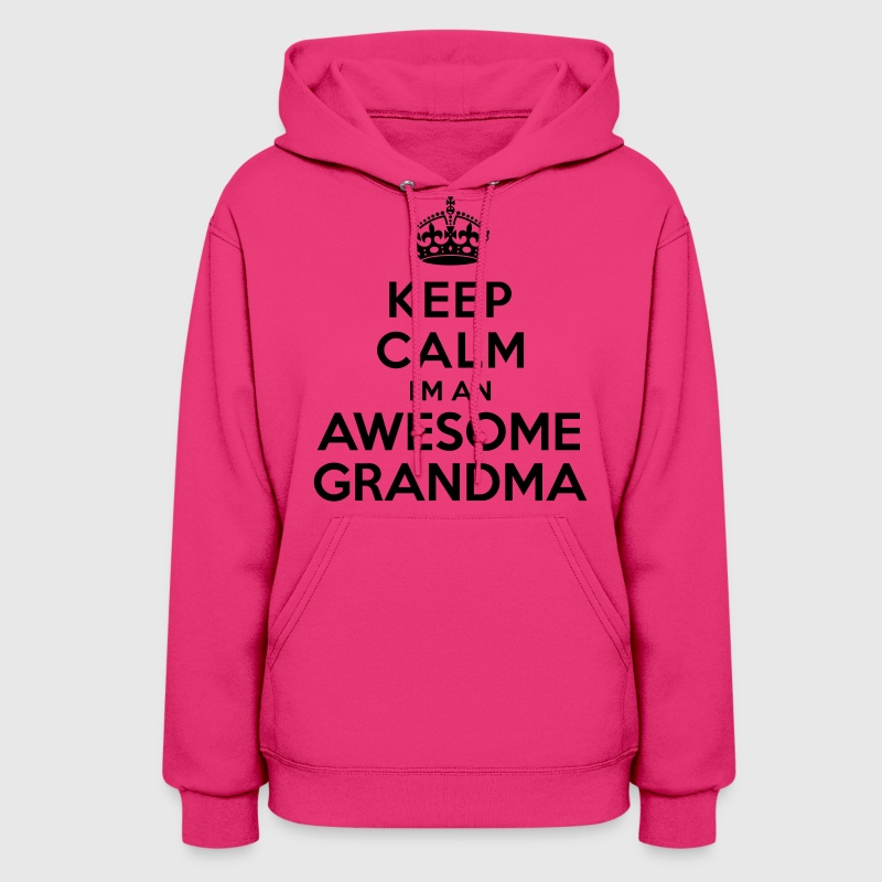 Keep calm Awesome Grandma Hoodies - Women's Hoodie