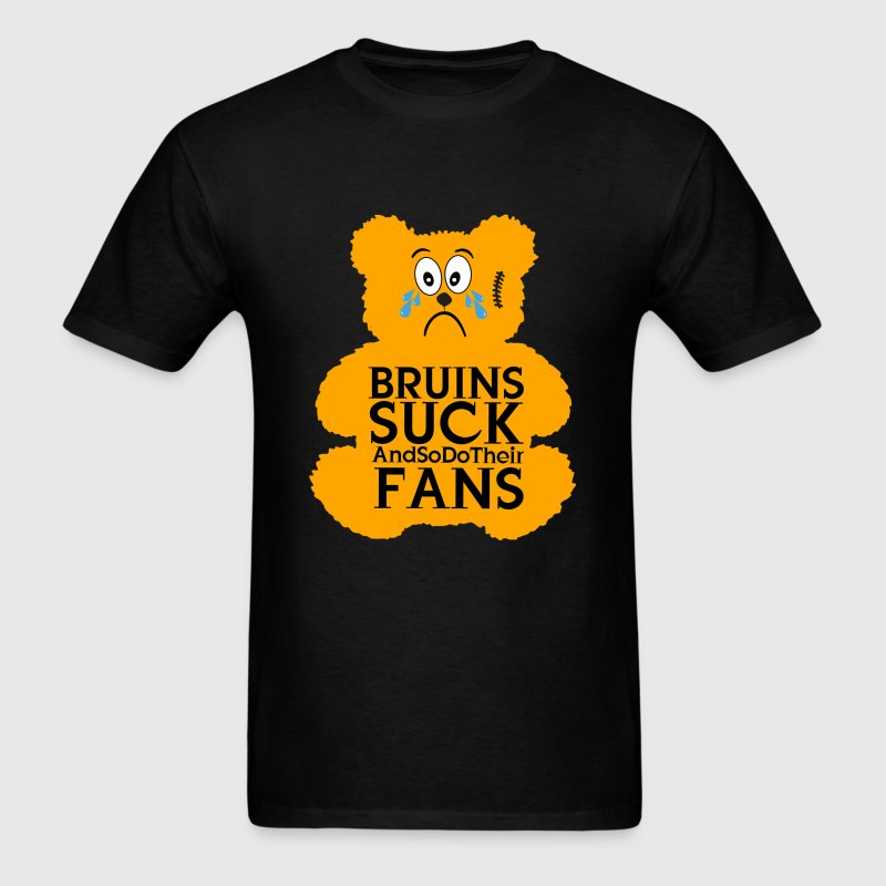 Bruins Suck Teddy - Men's T-Shirt