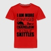 I am confused like a chameleon Baby & Toddler Shirts - Toddler Premium T-Shirt