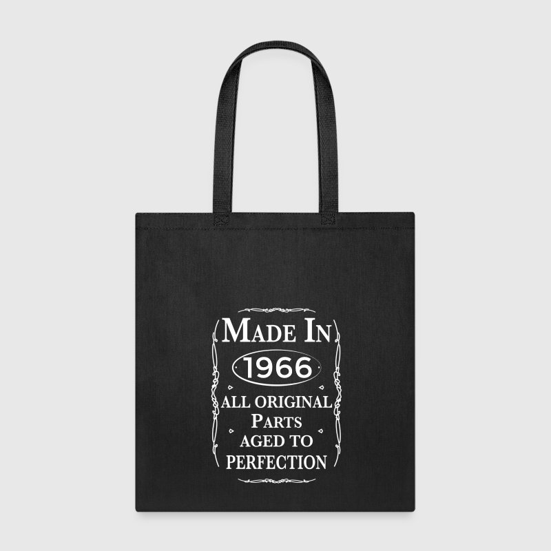 made in 1966 birthday Bags & backpacks - Tote Bag