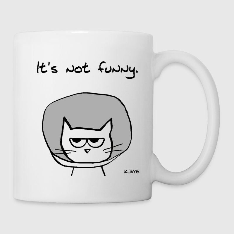 Angry Cat in the Cone of Shame - Coffee/Tea Mug
