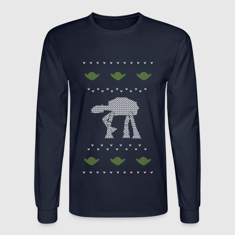 Star Wars Ugly Sweater Long Sleeve Shirts - Men's Long Sleeve T-Shirt