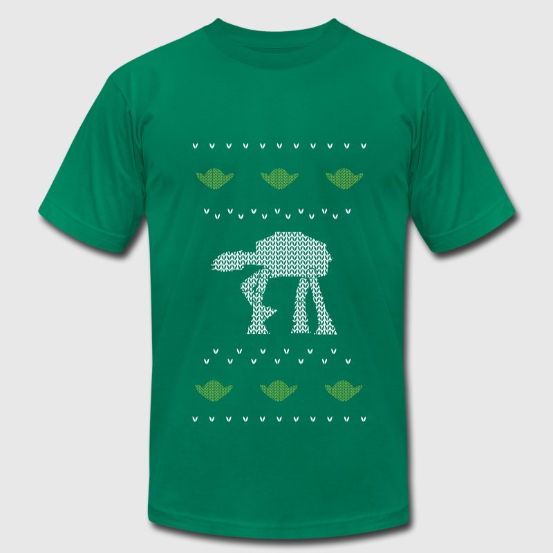 Star Wars Ugly Sweater T-Shirts - Men's T-Shirt by American Apparel