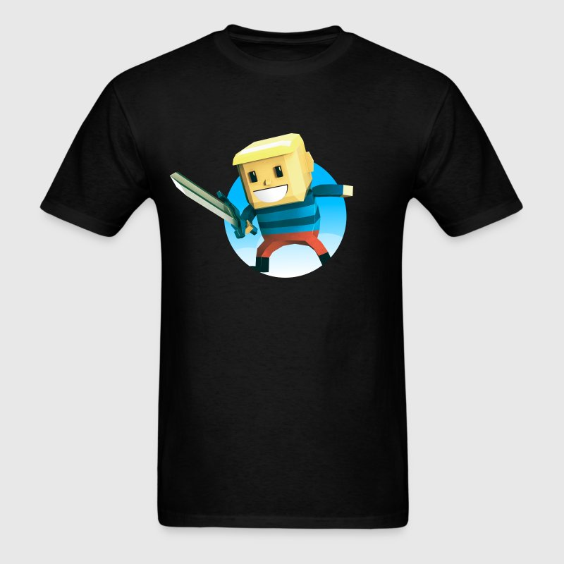 BlockBoy Swordsman T-Shirts - Men's T-Shirt