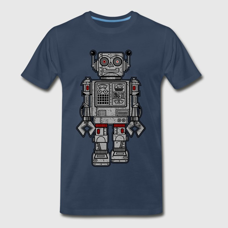 Retro Robot Toys - Men's Premium T-Shirt