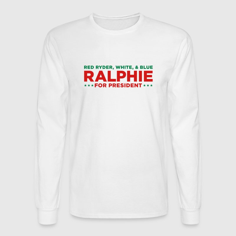 Vote Ralphie Red Ryder - Men's Long Sleeve T-Shirt