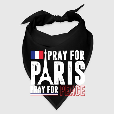 Pray For Paris Pray For Peace Mugs & Drinkware - Bandana