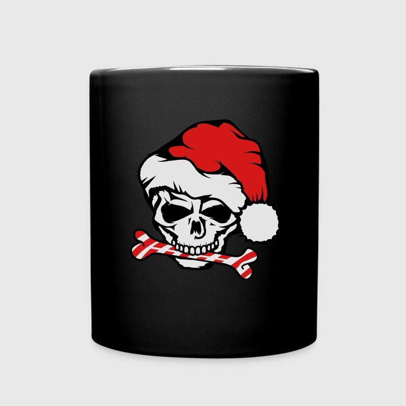 santa claus skull mugs drinkware full color mug