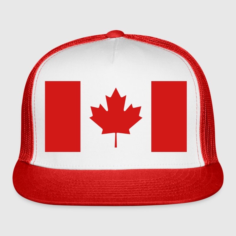 Canadian Flag Caps - Trucker Cap