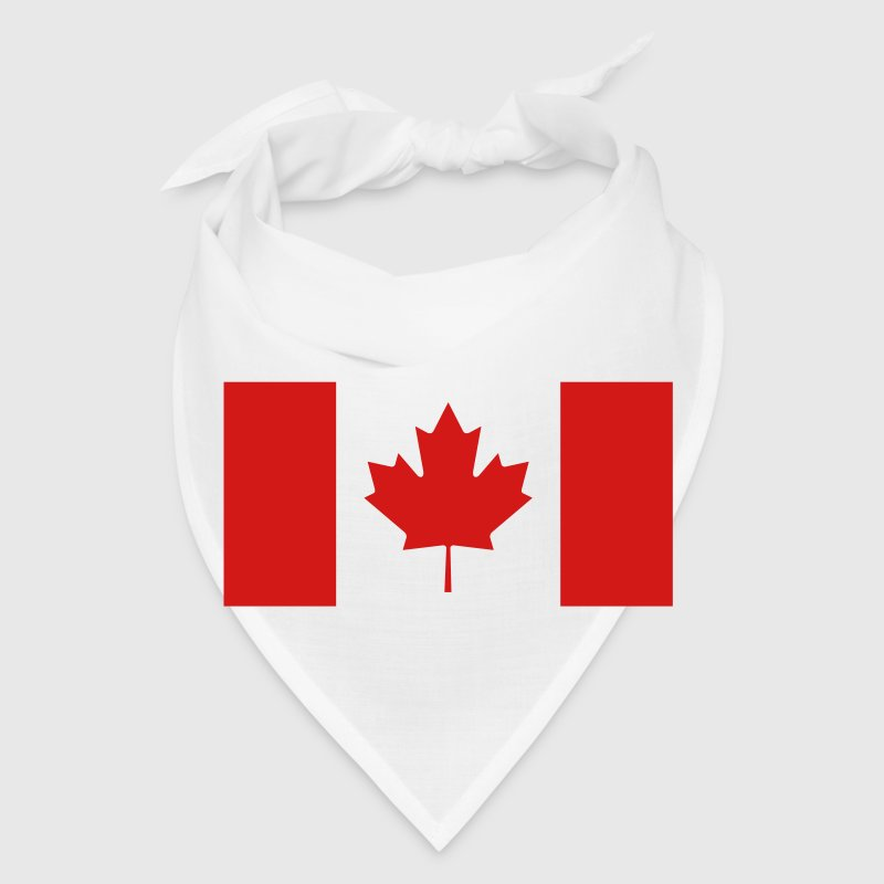 Canadian Flag Caps - Bandana