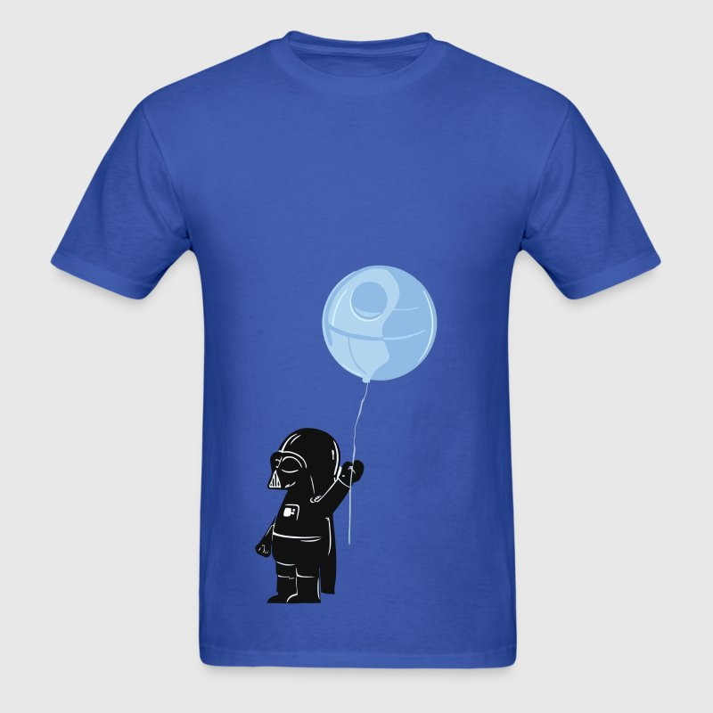 Cute Star Wars Darth Vader as a kid - Men's T-Shirt