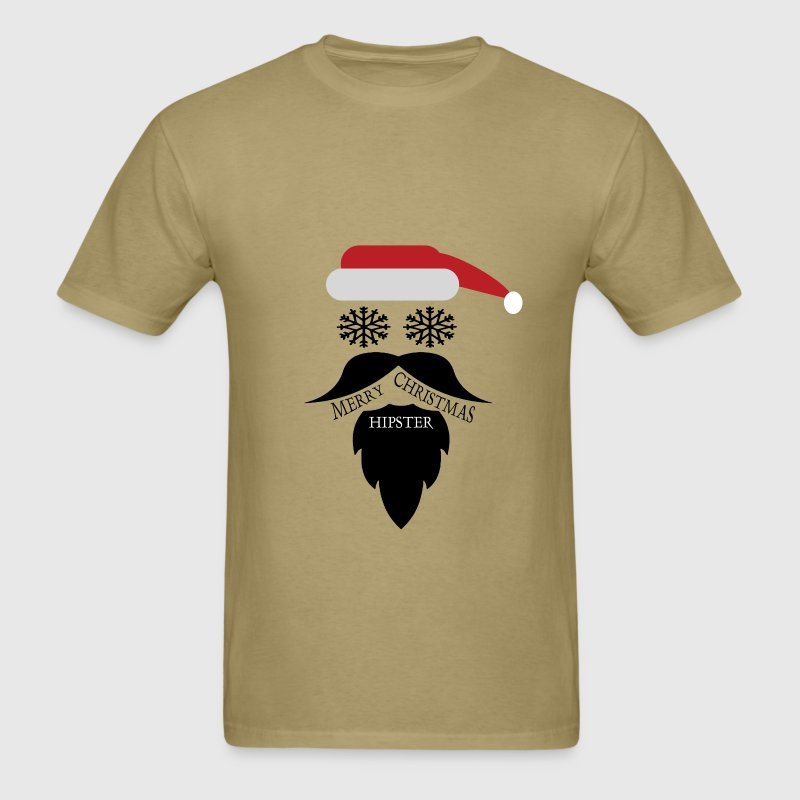 Hipster Christmas - Men's T-Shirt