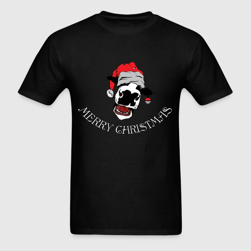 happy christmas cow - Men's T-Shirt