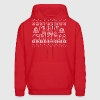 Merry Freaking Christmas Hoodies - Men's Hoodie