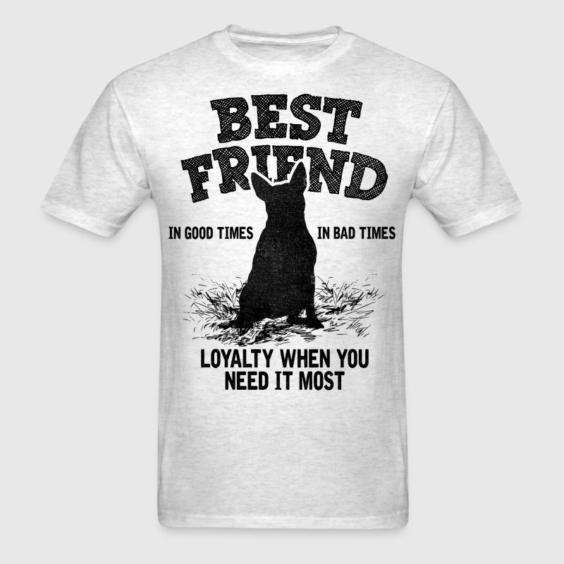 Bull Terrier - Best Friend, Loyalty When You Need T-Shirts - Men's T-Shirt