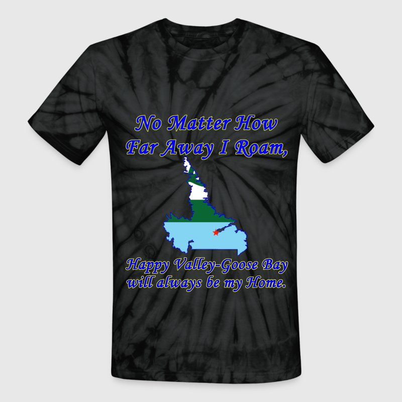 No Matter How Far Away I Roam, Happy Valley - Goos - Unisex Tie Dye T-Shirt