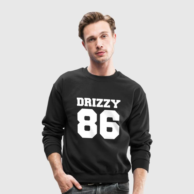 Team Drizzy 86 drake hers gift funny - Crewneck Sweatshirt