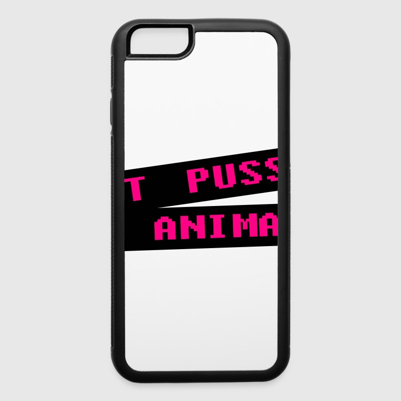 Eat pussy not animal - Vegan Accessories - iPhone 6/6s Rubber Case