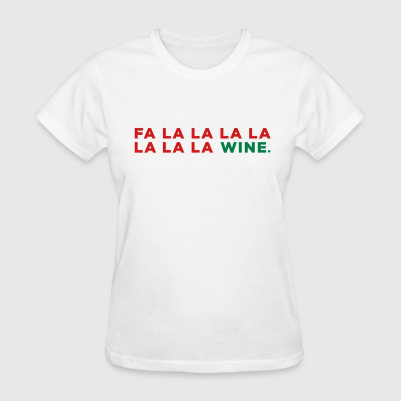 Wine Funny Christmas Party Song Tshirt Spreadshirt