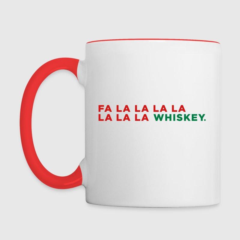 Whiskey Funny Liquor Alcohol Christmas Party Song Mug | Spreadshirt